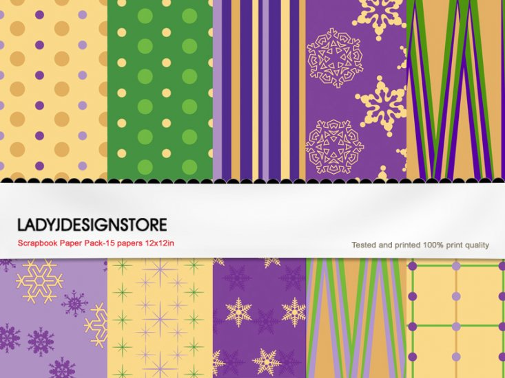 Digital papers - Christmas 2 - Click Image to Close
