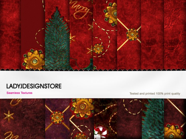 Christmas Santa texture fabric I - Click Image to Close