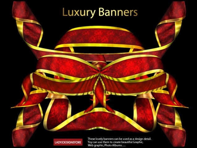 Luxury banners