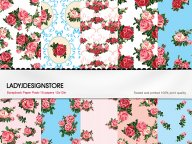 Digital papers - English Rose