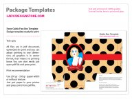 Vintage Gable Gift Box Free Template