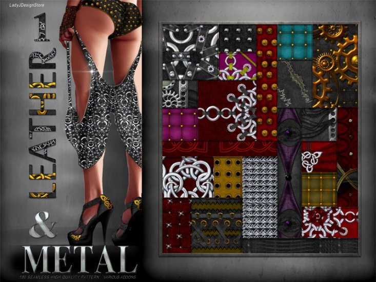 Leather & Metal 1 - Click Image to Close