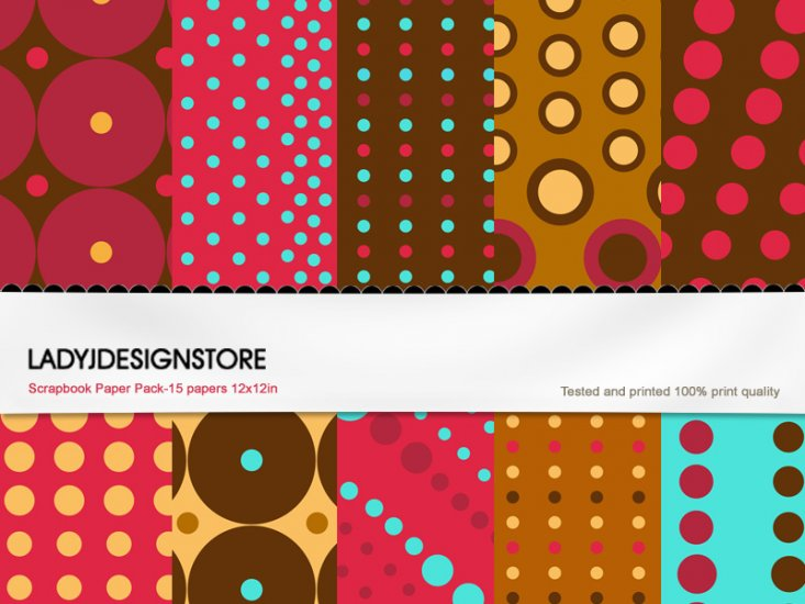 Digital papers - Praline - Click Image to Close