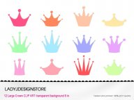 Pastel Crown Clip Art
