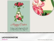 Easter greeting - Easter egg rose