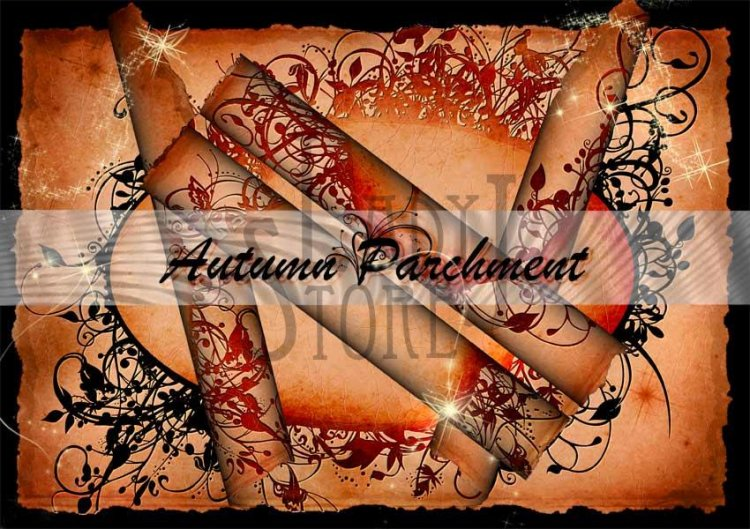 Autumn Parchment - Click Image to Close