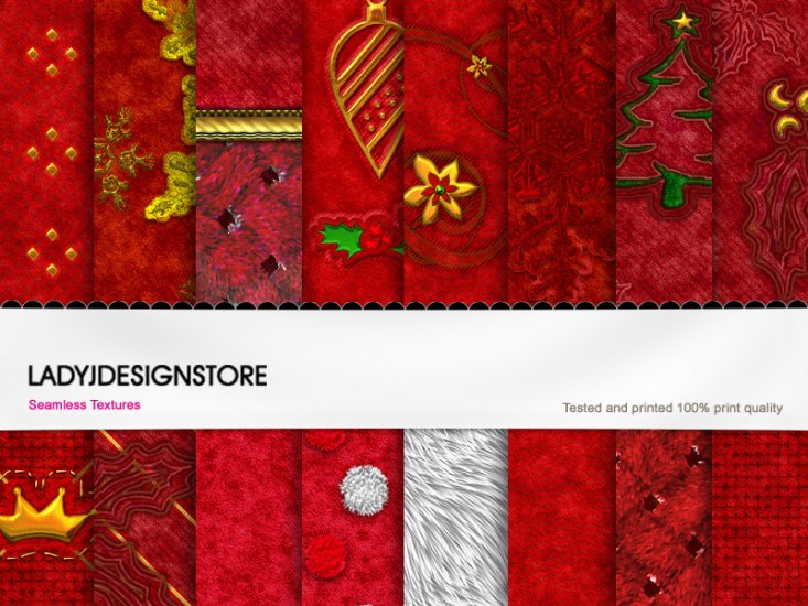 Christmas Santa texture fabric II - Click Image to Close