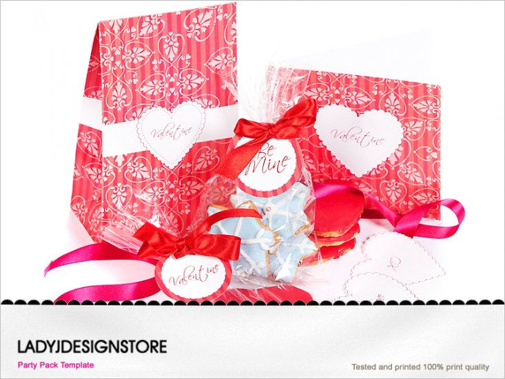 Valentine Mini Party Pack - Click Image to Close