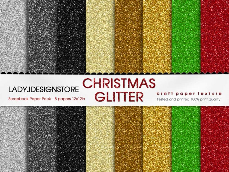 Christmas Glitter - Click Image to Close