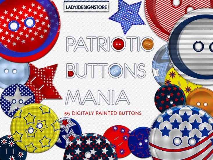 Scrapbooking elements button mania - Click Image to Close