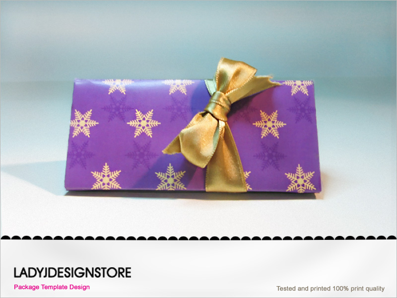 Snowflake Gift Box Template