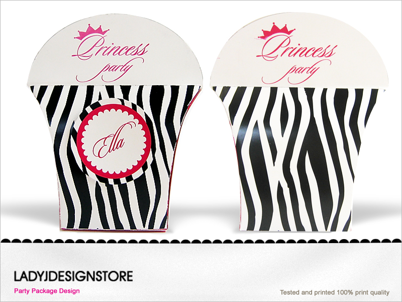 Zebra Princess Gift Box